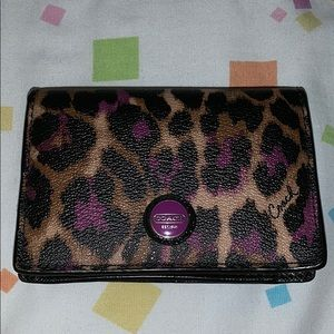 Coach Bags - PRICE DROP Retired Coach wallet